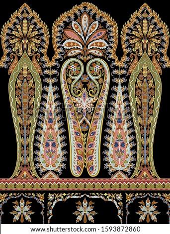 Urban Carpet motif on Black base