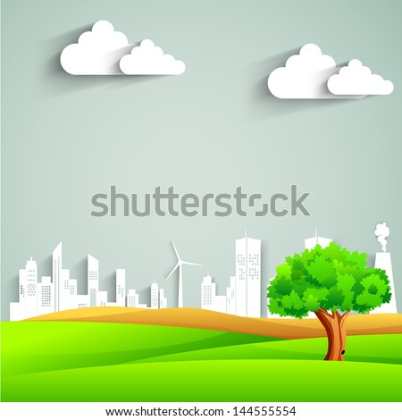 urban city background