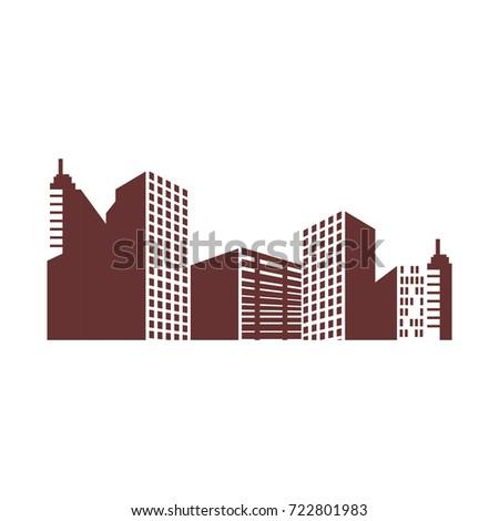 Urban cityscape view