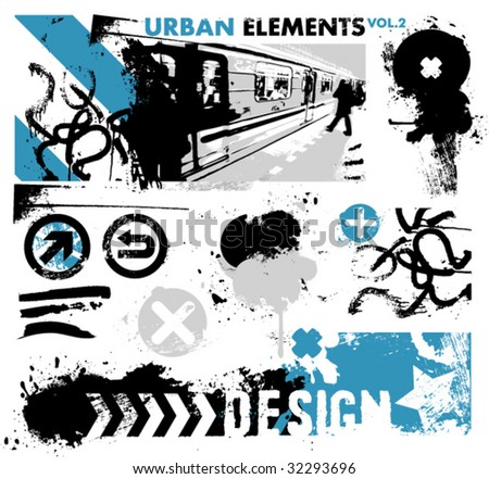 urban design elements / 2 / blue