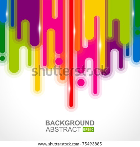 Urban designed background with stylized abstraction. Vector illustration
