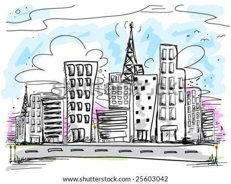 Urban Doodles - Vector