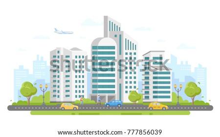 urban landscape   modern