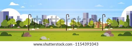 urban park outdoors city