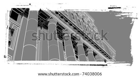 urban scenics sketch