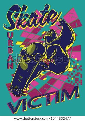 Urban skate victim