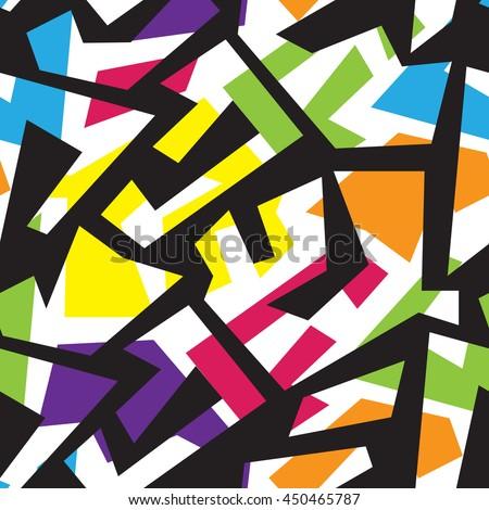 urban stylish geometric pattern
