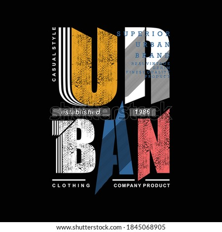urban text cool graphic vector illustration typography good for print t shirt design Foto stock ©
