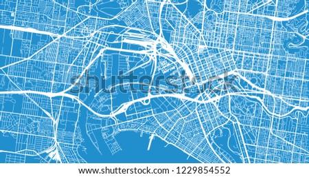 Melbourne Australia City Map.Melbourne Map Download Free Vector Art Stock Graphics Images