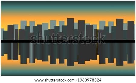 urban vector illustration amid
