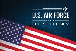 US Air Force Birthday Vector