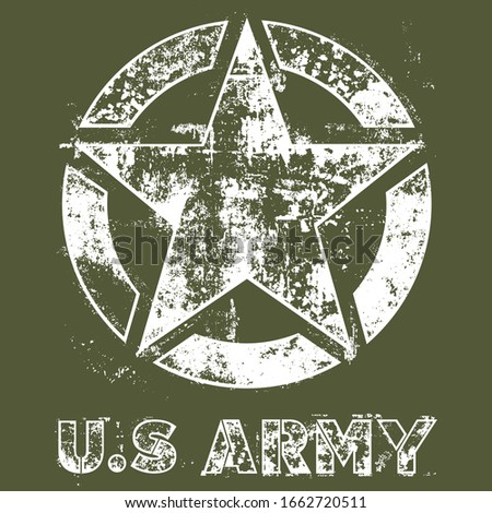 us army star military