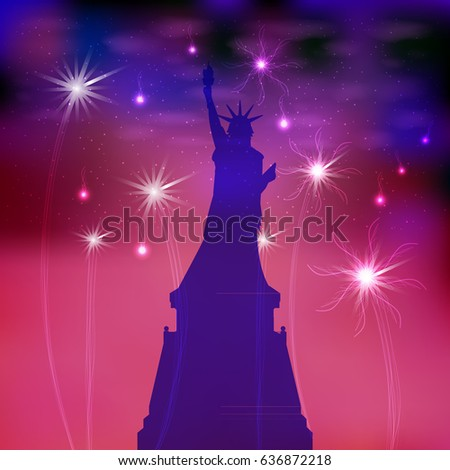 us independence day statue of