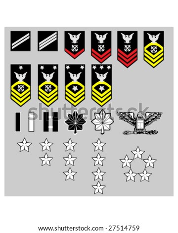 us navy rank insignia for