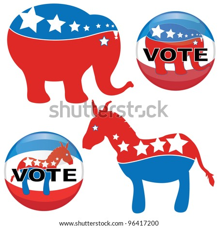 US presidential election in 2012 The democrat vs republican
