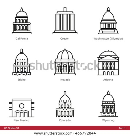 us state capitols  part 1