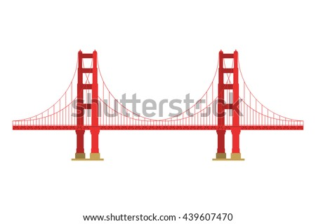 us symbol   golden gate bridge