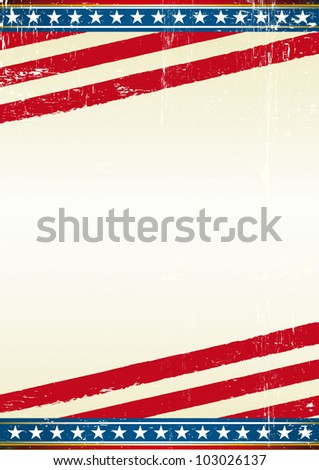 USA. american grunge background of a poster.