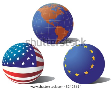 Usa europe & the world