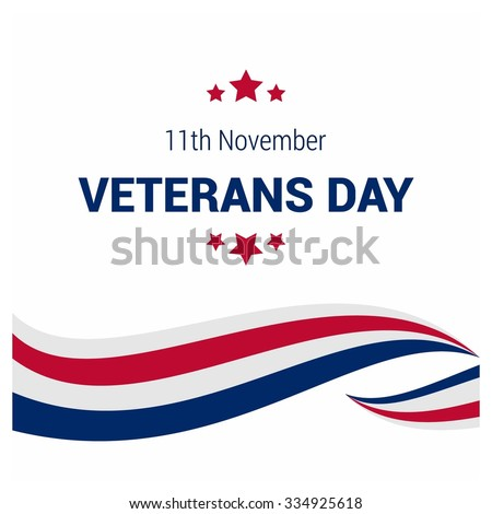 Usa flag color lines pattern background. Happy Veterans Day. November 11th, United state of America, U.S.A veterans day design. Beautiful USA flag Composition. veterans Day poster design
