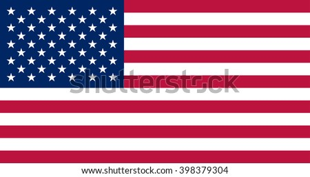 usa flag official colors and
