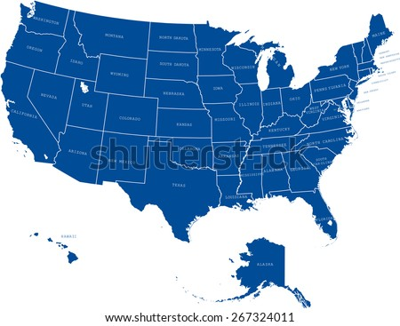 North America Map Vector Download Free Vector Art Stock - Usa map images