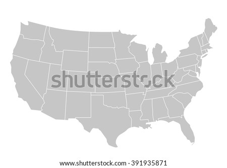 Shutterstock USA map