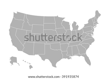 United States Map Vector Download Free Vector Art Stock - Us map vector