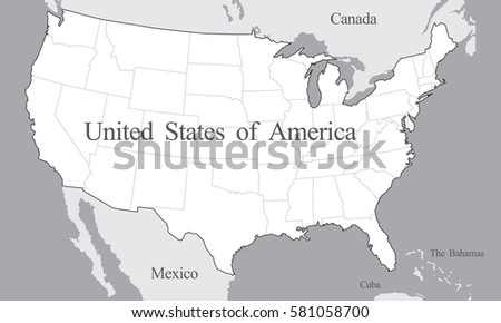 Mexico Map Vector Download Free Vector Art Stock Graphics Images - Us mexico vector map