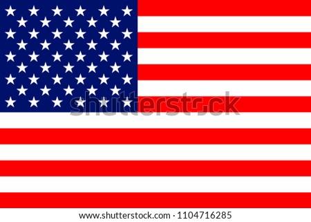 USA national flag #1104716285