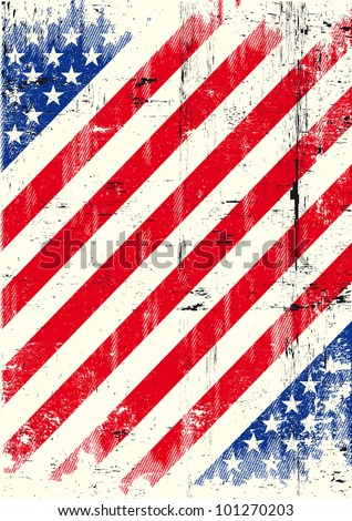 USA texture background. American grunge poster for you.