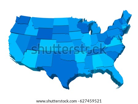 United States Map Vector Download Free Vector Art Stock