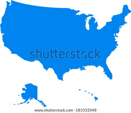 Free america icons vector download free vector art stock usa vector map sciox Choice Image