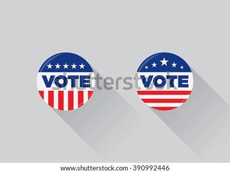 Free Campaign Button Vectors
