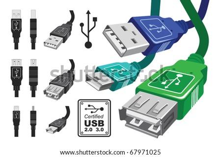 Vector connectors