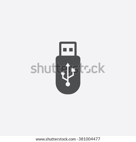 usb icon vector usb icon art