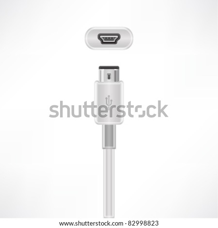 USB mini-B plug & socket
