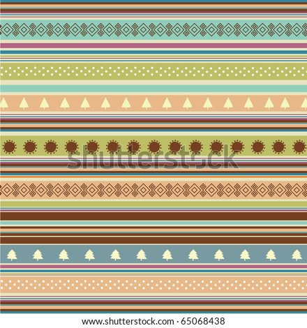 Use this retro-styled vector as Christmas background or postcard
