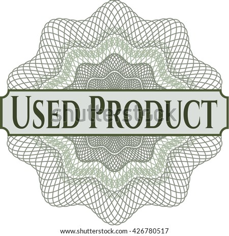 Used Product abstract linear rosette