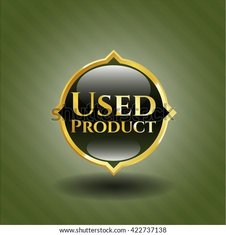 Used Product gold emblem