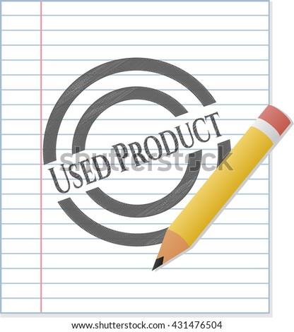 Used Product pencil emblem
