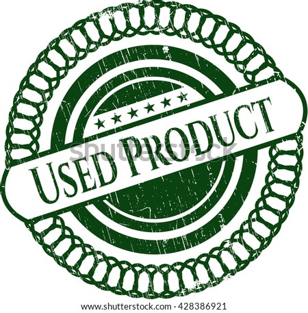 Used Product rubber grunge seal
