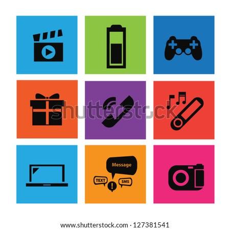 Useful Mobile icon set 2
