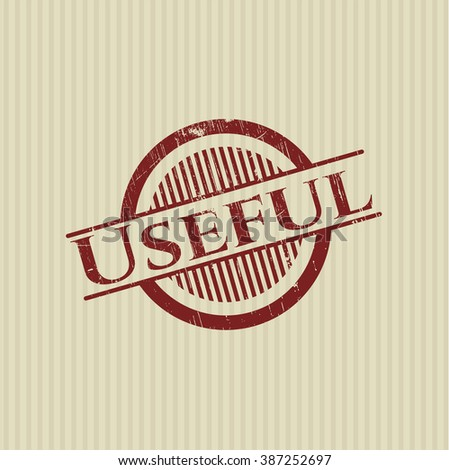 Useful rubber stamp