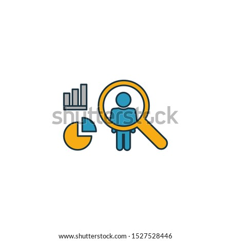 User Behavior icon. Outline filled creative elemet from big data icons collection. Premium user behavior icon for ui, ux, apps, software and infographics.