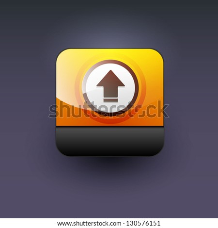 User interface download icon