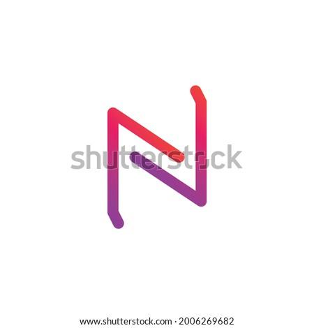 User Interface NFC Gradient Icon Foto stock ©