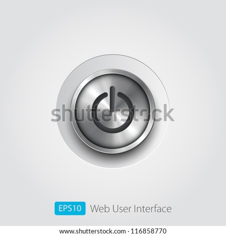 User interface switch button (On/Off)