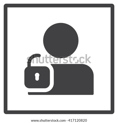 User login or authenticate icon