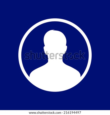 User sign icon Person symbol Human avatar.Flat style EPS 10